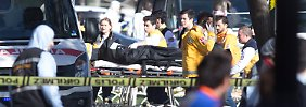 Rettungseinsatz nach dem Anschlag.
