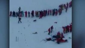 Tote bei Grenoble: Lawine reißt Schülergruppe mit sich