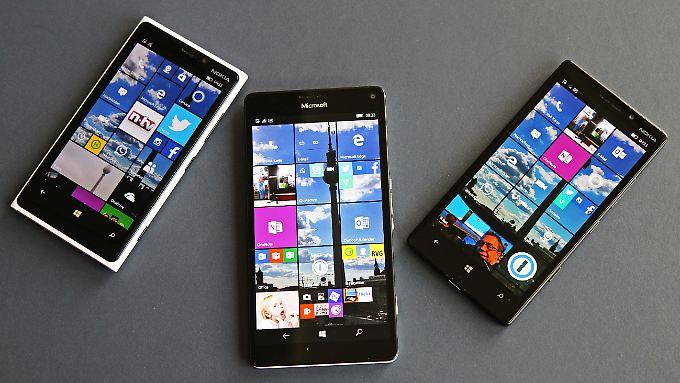 Schon im Januar stellte Microsoft den Verkauf eigener Lumia-Smartphones endgültig ein.