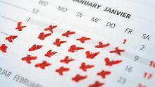 Mal den ganzen Januar Urlaub nehmen: Davon träumen viele - und der Chef kann das gar nicht so leicht ablehnen. Foto: Andrea Warnecke