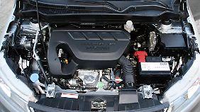 Der Turbobenziner holt aus 1,4 Litern Hubraum 140 PS und 220 Newtonmeter Drehmoment.