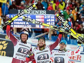Am Ende lag Svindal knapp vor dem Österreicher Hannes Reichel, der im Vorjahr triumphiert hatte.