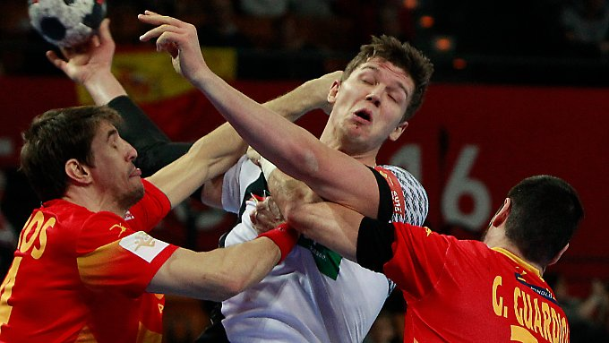 Gutes Spiel, keine Punkte: Die deutschen Handballer konnten sich zum EM-Start gegen Spanien nicht belohnen.