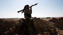 IS-Kämpfer in Syrien (Archivbild).