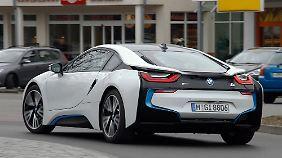 Nur wenig unterscheidet sich der BMW i8 vom damaligen Konzeptauto.