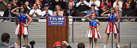 """Verstörender Wahlkampfauftritt in Florida: """"USA Freedom Kids"""" sorgen mit Trump-Hymne für Kopfschütteln"""