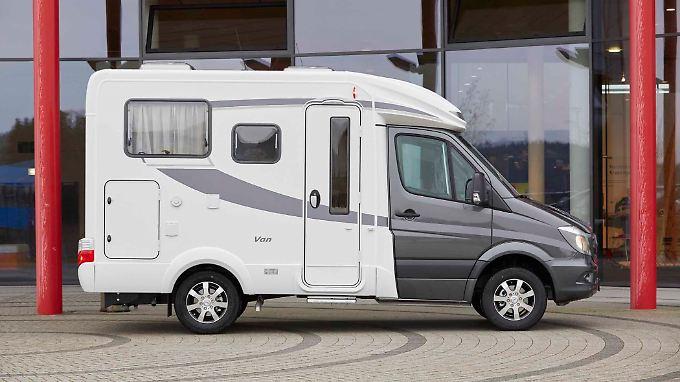 Mit einer Länge von 5,65 Metern ist der Hymer S 500 das kompakteste Wohnmobil im Portfolio des Herstellers aus Bad Waldsee.