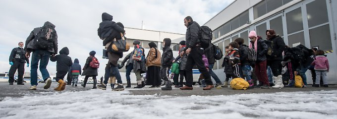 Flüchtlinge in Passau.