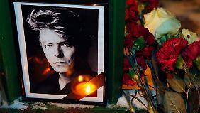 David Bowie starb am 10. Januar 2016 an Krebs.