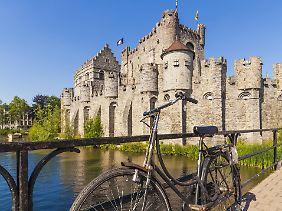 Gent lässt sich auch mit dem Fahrrad erkunden.