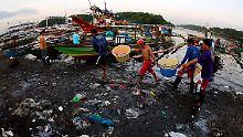 Schutz der Weltmeere: 40 Großkonzerne wollen Plastik reduzieren