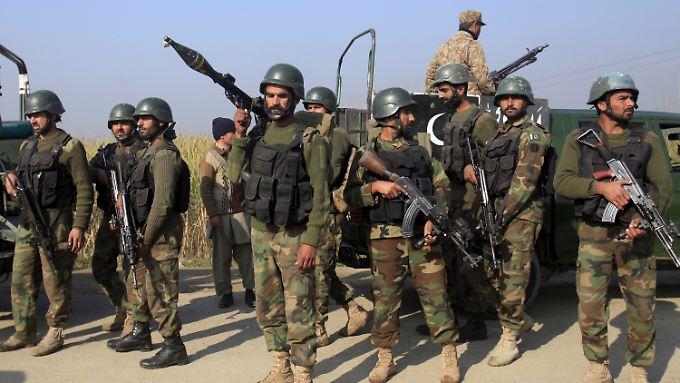 Beim Eingreifen des Militärs sollen alle Angreifer getötet worden sein.