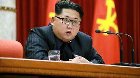 Der nordkoreanische Machthaber Kim Jong-Un.