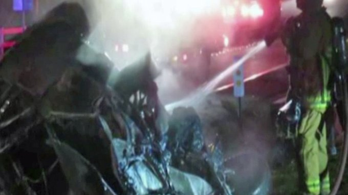 Kaum zu glauben, aber wahr: Jamie Foxx rettet Mann filmreif aus brennendem Auto