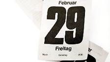 Alle vier Jahre wird vor dem 1. März ein zusätzlicher Tag ins Jahr eingefügt: der 29. Februar. 2016 ist ein solches Schaltjahr.