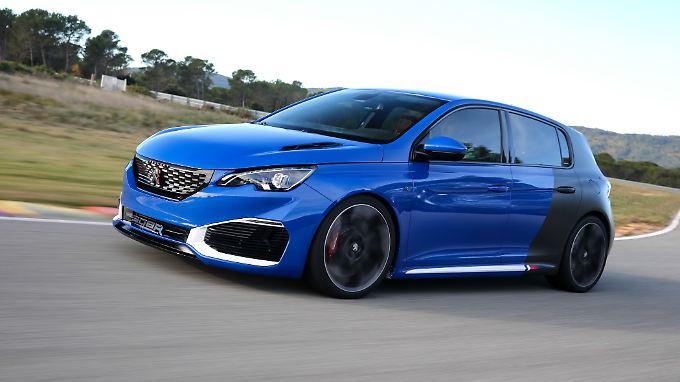 Nicht nur die Optik des Peugeot 308 R-Hybrid ist besonders, auch der Antrieb.