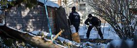 Studentin unter Mordverdacht: Polizisten finden verdächtigen Plastiksack