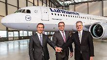3621 Bestellungen für Flüsterjet: Airbus liefert ersten 320neo aus
