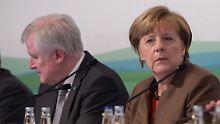 Frostige Stimmung in Kreuth: Merkel bekommt Wut der CSU zu spüren