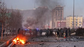 Bis zu sieben Mitarbeiter des TV-Senders starben bei dem Anschlag.
