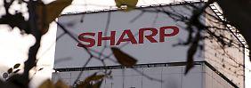 Sharp kommt einfach nicht aus dem Tal raus.