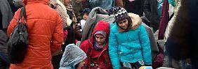 Keine Einreise von Flüchtlingen: Mazedonien schließt kurzzeitig Grenze