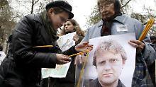 """Putin soll Mord """"gebilligt"""" haben: London bestellt russischen Botschafter ein"""