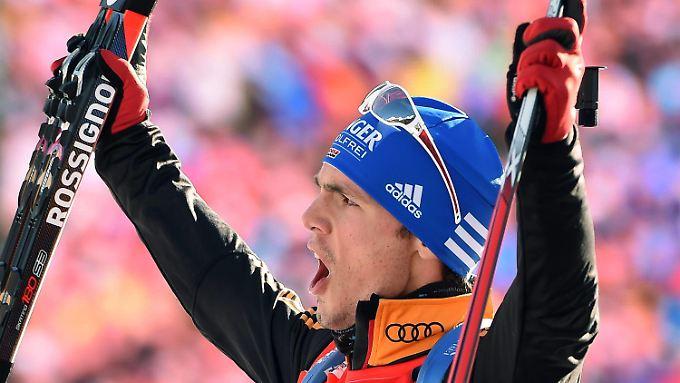In Antholz wird Simon Schempp regelmäßig zum Champion. Fünf seiner nun neun Weltcupsiege feierte der Deutsche in Italien.