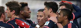 Kühler FC Bayern siegt zum Auftakt: Lewandowski erledigt mutigen HSV