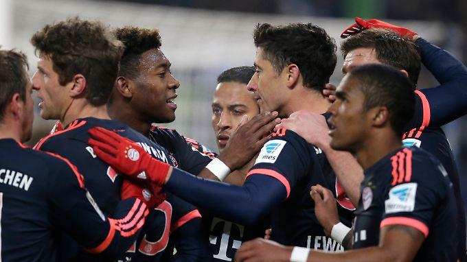 Siege sind für den FC Bayern Routine - auch zum Auftakt der Rückrunde.