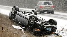 ... kam es zu Hunderten Unfällen, bei denen mehrere Menschen ums Leben kamen.