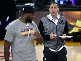 Für Blatt waren die Cavaliers die erste Station in der NBA.