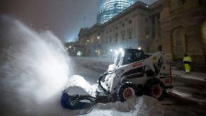 """Notstand in mehreren Bundesstaaten: """"Monster-Blizzard"""" trifft US-Hauptstadt Washington"""
