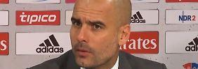 """Guardiola nach 2:1 Sieg gegen HSV: """"Wir waren glücklich, das zweite Tor zu schießen"""""""