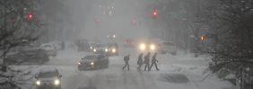US-Ostküste versinkt im Schnee: Blizzard fordert mehrere Menschenleben