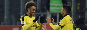 Munteres Borussen-Duell: Dortmund ist zu stark für Gladbach