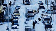 """Blizzard der härtesten Sorte: """"Snowzilla"""" legt Osten der USA lahm"""