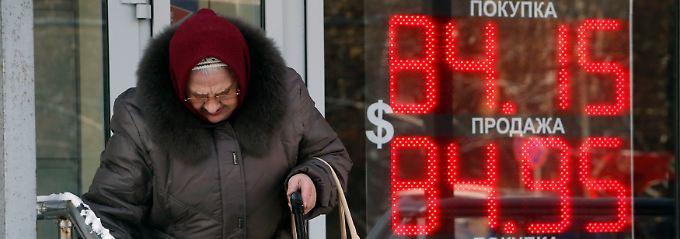 Die Krise der russischen Wirtschaftskrise trifft vor allem die Schwachen.