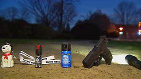 n-tv Ratgeber: Einsatz von Pfefferspray, Waffen und Co zum Selbstschutz