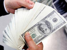 Keine Angst vorm Dollar.