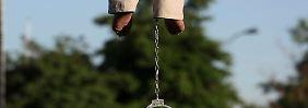 Öffentliche Hinrichtungen sind im Iran nichts Ungewöhnliches.