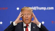 Im Präsidentschaftswahlkampf in den USA macht vor allem der republikanische Bewerber Donald Trump mit derben Sprüchen auf sich aufmerksam.