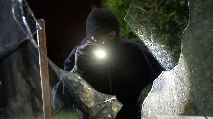 Levan K. gilt als Kopf einer Einbrecherbande. (Symbolbild)