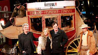 """Premiere von """"The Hateful 8"""" in Berlin: Quentin Tarantino präsentiert blutigen Western"""