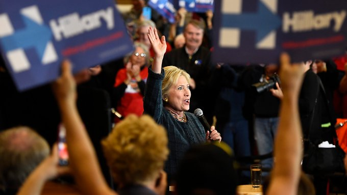 Hillary Clinton galt lange Zeit als Top-Favoritin auf die demokratische Präsidentschaftskandidatur.