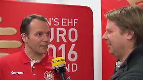 """Sigurdsson zum Spiel gegen Dänemark: """"Es kommt eine riesen Challenge auf uns zu"""""""