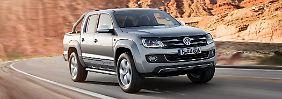 Die 2.0 Liter Diesel des VW Amarok bekommen als erste ein Update.