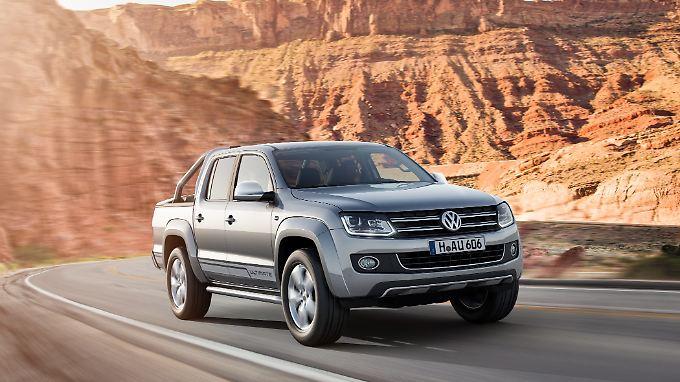 Die 2.0-Liter-Diesel des VW Amarok bekommen als Erste ein Update.