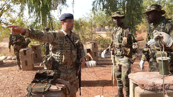 Der Einsatz im Norden Malis wird gefährlich.
