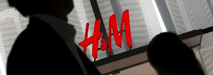 Eine H&M-Filiale in Tokio